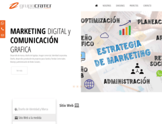 grupocrater.com screenshot
