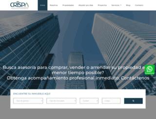 grupocrispa.com screenshot
