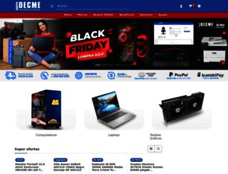 grupodecme.com screenshot