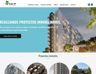 grupodv.com screenshot