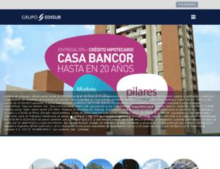 grupoedisur.com screenshot