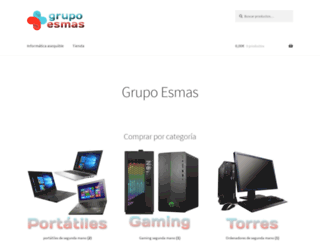 grupoesmas.com screenshot