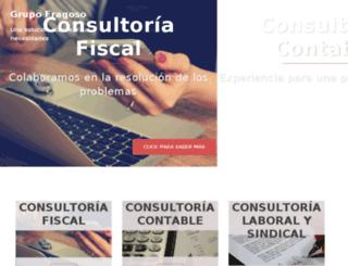 grupofragoso.com.mx screenshot