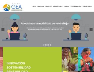 grupogea.org.pe screenshot