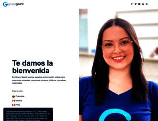 grupogeard.com screenshot