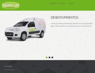 grupolardesentupidora.com.br screenshot