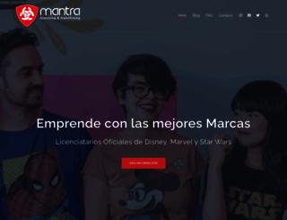 grupomantra.com screenshot