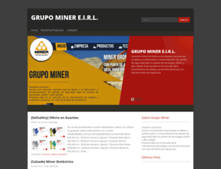 grupominerperu.blogspot.pe screenshot