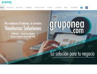 gruponea.com.ar screenshot