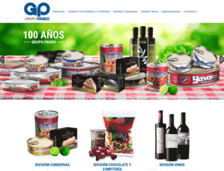 grupopando.com screenshot