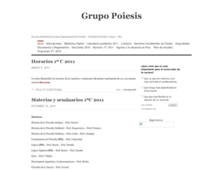 grupopoiesis.wordpress.com screenshot