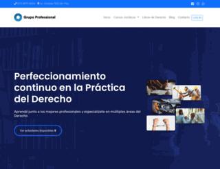 grupoprofessional.com.ar screenshot