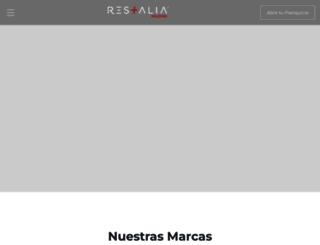 gruporestalia.com screenshot