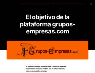grupos-empresas.com screenshot