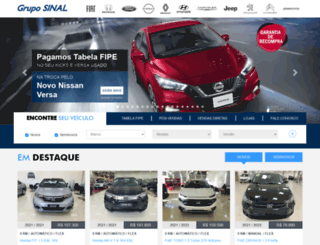 gruposinal.com.br screenshot