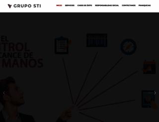 gruposti.net screenshot