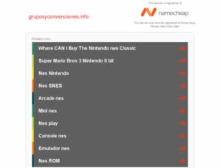 gruposyconvenciones.info screenshot