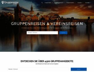 gruppenreise-portal.com screenshot