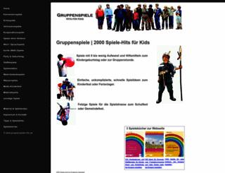 gruppenspiele-hits.de screenshot
