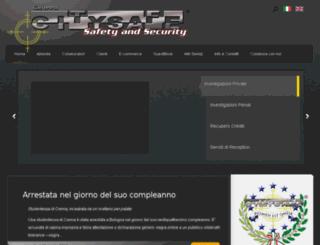 gruppocitysafe.it screenshot
