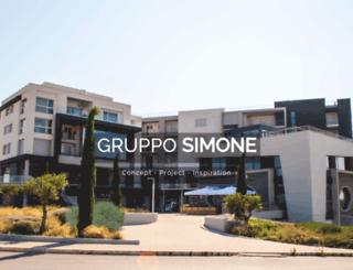 grupposimone.it screenshot
