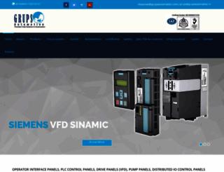 grupsautomation.com screenshot