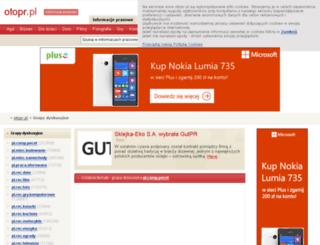 grupy.otopr.pl screenshot