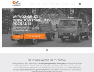 gruzownik.pl screenshot