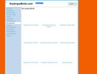 gryangrybirds.com screenshot