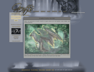 gryffs.com screenshot