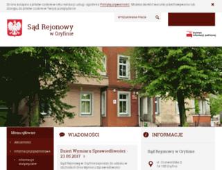 gryfino.sr.gov.pl screenshot