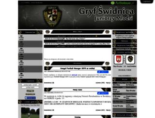 gryfswidnica.futbolowo.pl screenshot
