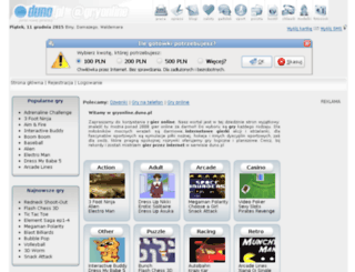 gryonline.duno.pl screenshot