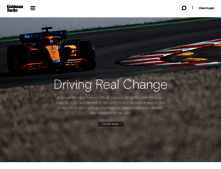 gs.com screenshot