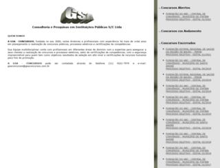 gsaconcursos.com.br screenshot