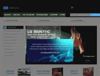 gsaelektronik.com screenshot