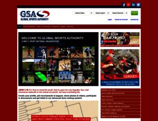 gsateams.com screenshot