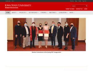 gsb.iastate.edu screenshot