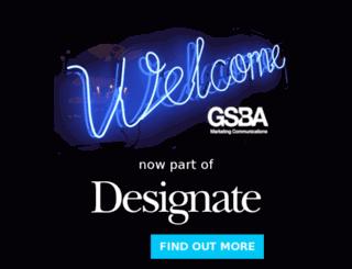 gsba.co.uk screenshot