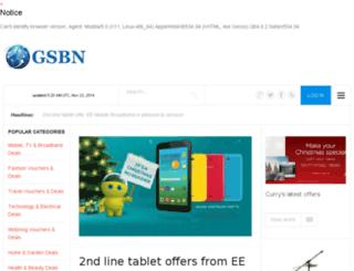 gsbn.co.uk screenshot