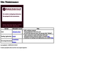 gsc.mit.edu screenshot