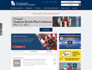 gscpa.org screenshot