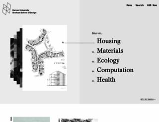 gsd.harvard.edu screenshot