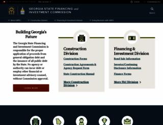 gsfic.ga.gov screenshot