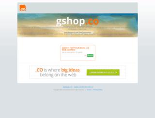 gshop.co screenshot