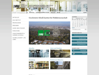 gsi.uni-muenchen.de screenshot