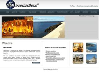 gsk-productions.com screenshot