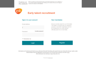 gsk.gradweb.uk.com screenshot
