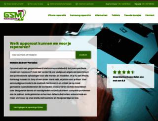 gsm-paradise.nl screenshot