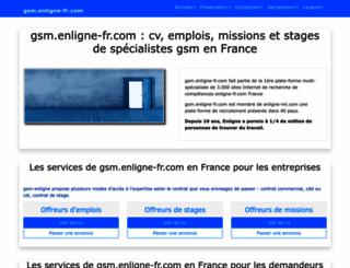 gsm.enligne-fr.com screenshot